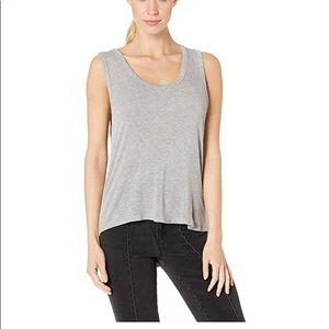 Free People Womens OB948615 Top Relaxed Grey S